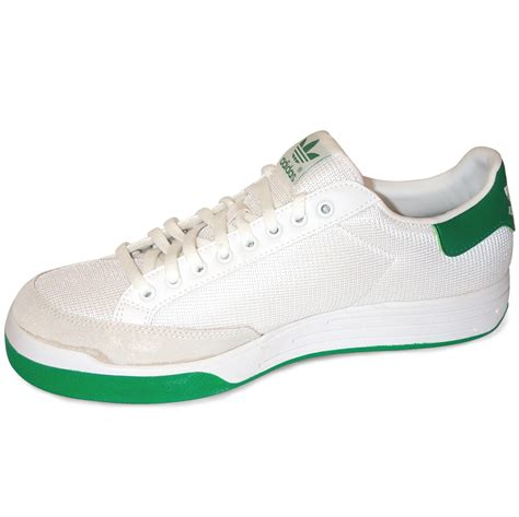 Adidas Rod Laver Super Tennis Shoes – White/Green | World