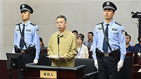 Former Interpol Chief Stands Trial For Bribery in China's