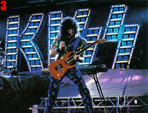 THE KISS TOURS - 1987 Crazy Nights