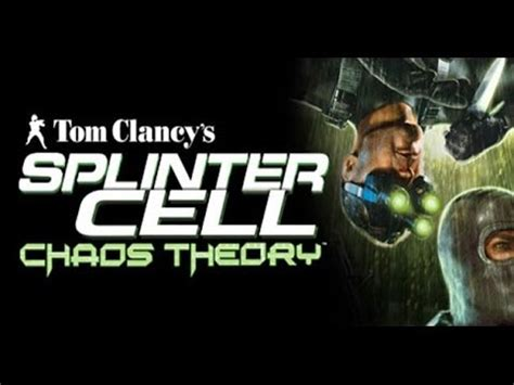 Splinter Cell: Chaos Theory - Game Movie - YouTube