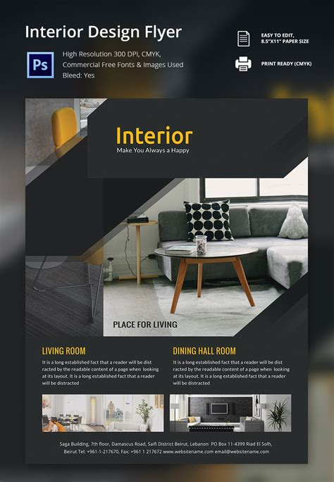 17+ Interior Decoration Brochure – Free Word, PSD, PDF