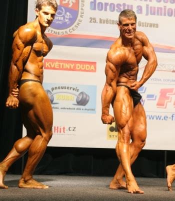 bodybuilders privates exposed (in posing trunks) - visible