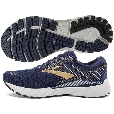 Brooks Adrenaline GTS 19 Men's Navy/Gold/Grey | World Footbag