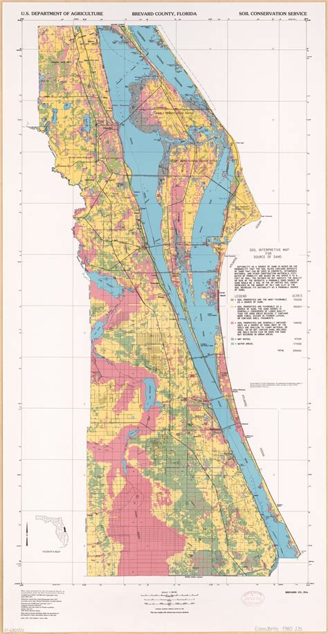 Brevard County, Florida : soil interpretive map for source