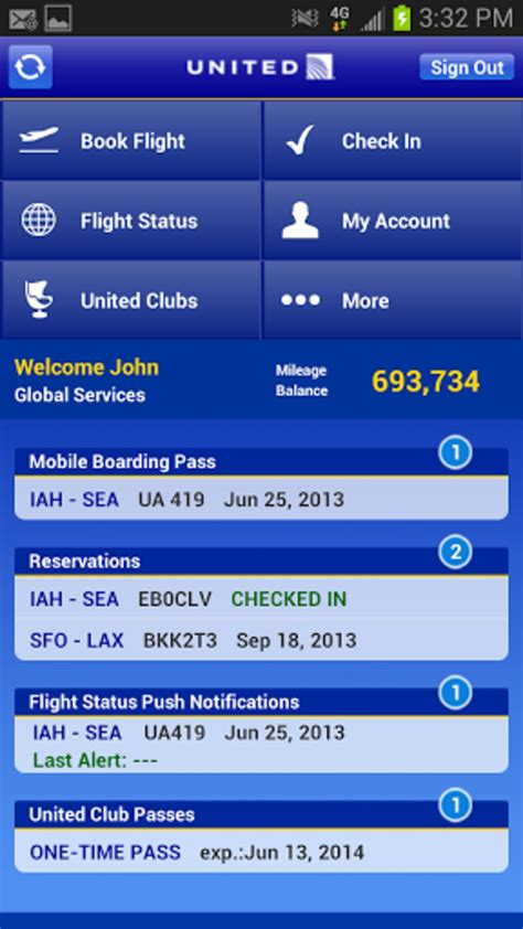 United Airlines for Android - Download