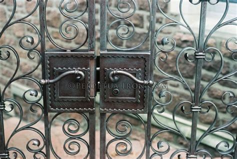 large wrought iron gate (With images)