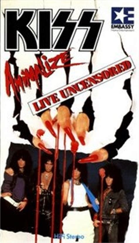 KISS Animalize: Live Uncensored reviews