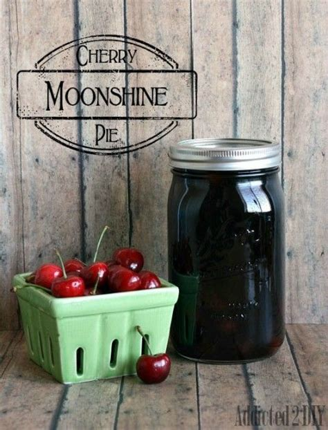 Cherry Pie Moonshine {Drinks with the Girls - Summer