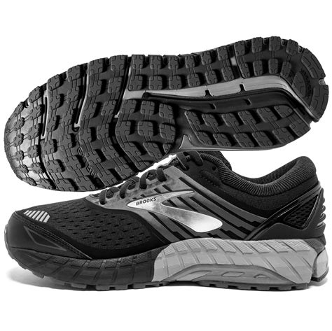 Brooks Beast 18 Men's Black/Grey/Silver | World Footbag