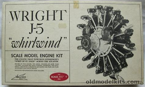 Williams Brothers 1/8 Wright J-5 'Whirlwind' Radial