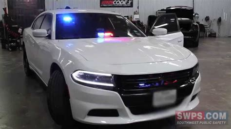2015 Dodge Charger Police Package outfitted with emergency