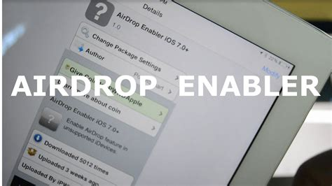 AirDrop Enabler   Enable AirDrop on Unsupported devices