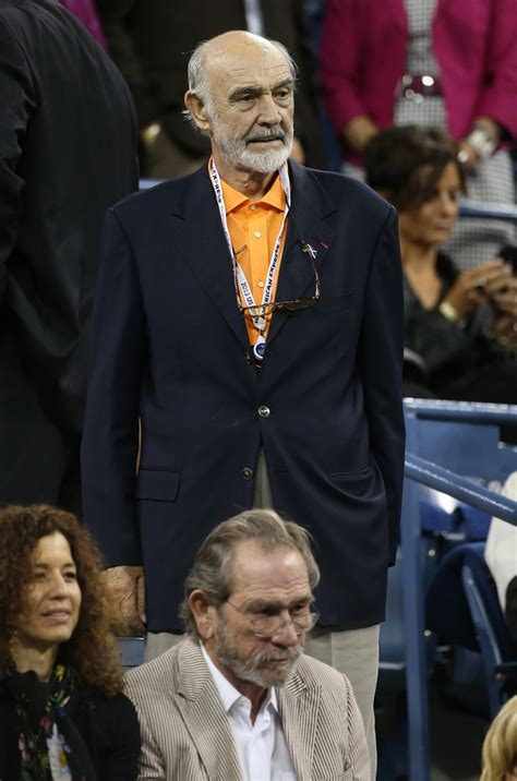 Sean Connery - Sean Connery Photos - Celebs Catch a Tennis