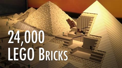 LEGO Great Pyramid of Giza | Museum of Science and