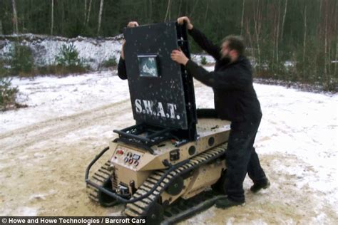 Tanked Up: High Speed Ripsaw Tank Speeds Across Icy Lake