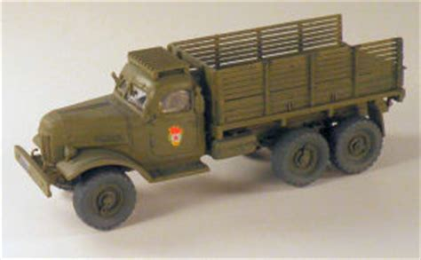 Trumpeter 1101 1/72 ZIL-157 Truck Build Review