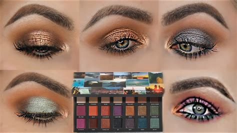 5 LOOKS 1 PALETTE | FIVE EYE LOOKS WITH THE BORN TO RUN