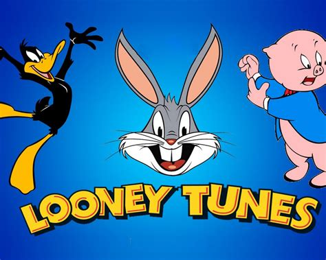 Looney Tunes Movie Bugs Bunny Daffy Duck And Porky Pig