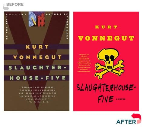 book cover redesigns for Kurt Vonnegut backlist There have