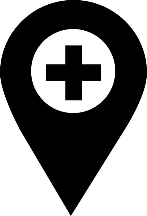 Pharmacy Location Pointer Svg Png Icon Free Download