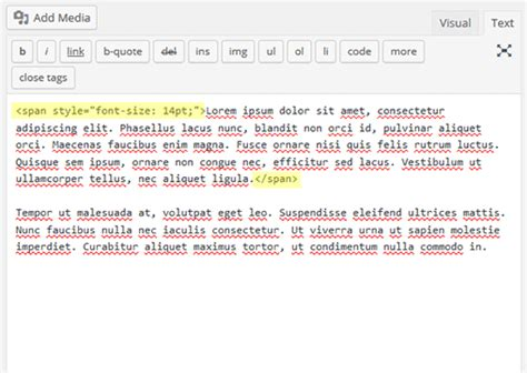How to Change the Font Size in WordPress via Plugin or