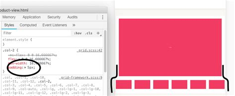 html - Image gallery thumbnail size with Bootstrap 4
