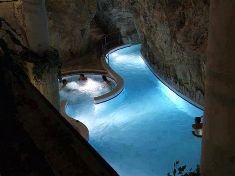 Thermal Baths Inside a Cave-Miskolc Tapolca, Hungary
