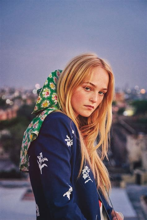 W Magazine December 2017 Jean Campbell by Ryan McGinley