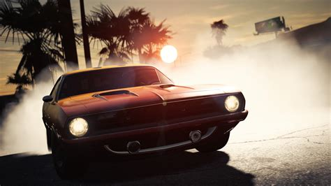 Wallpaper Plymouth Barracuda, Need for Speed Payback, 5K
