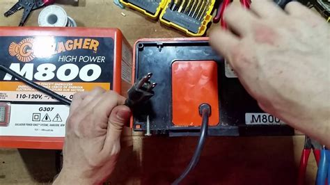 Testing A Gallagher Electric Fence Charger - YouTube