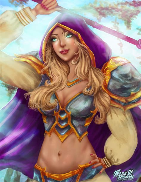 Jaina Proudmoore Fanart :) For more please visit: http
