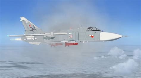 Sukhoi Su-24 Fencer Multi Livery Package for FSX