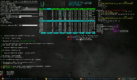 How to have a transparent terminal as wallpaper that
