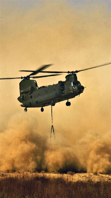Wallpaper Boeing CH-47 Chinook, helicopter, U