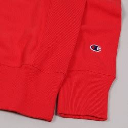 Champion Basic Sweatshirt Small C Red - Skateboarding