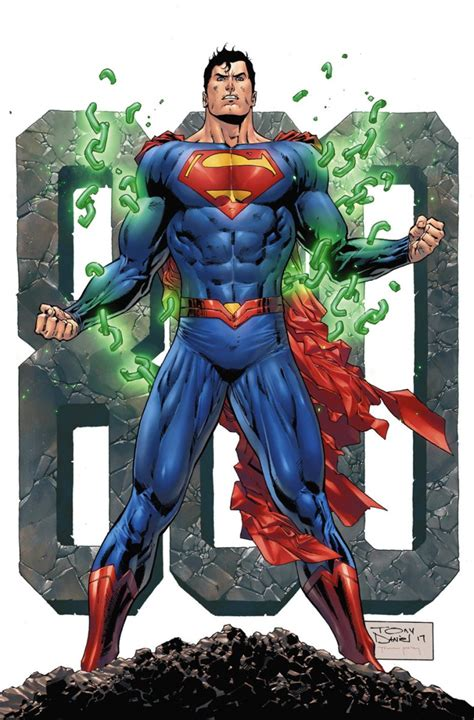 """""""Superman #34"""" Variant Cover to Celebrate 800th Adventure"""