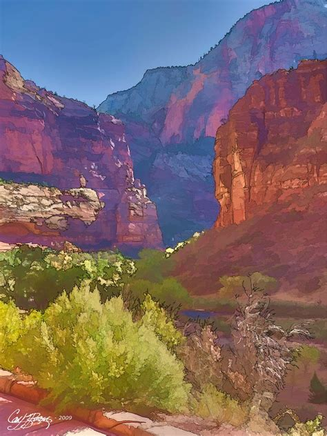 Big Bend, Zion National Park, Early Fall | The Big Bend