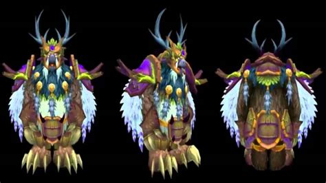 Legion Moonkin Forms Horde and Alliance - YouTube