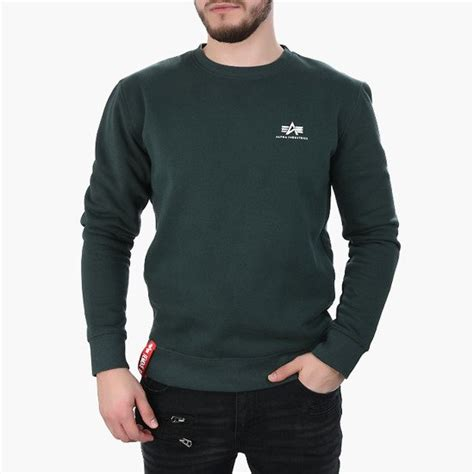 Pánská mikina Alpha Industries Basic Sweater Small Logo