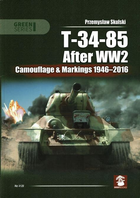 Review: T-34-85 After WW2-Camouflage & Markings 1946