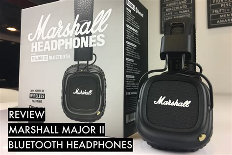Review: Wireless Marshall Headphones With A Monster Battery