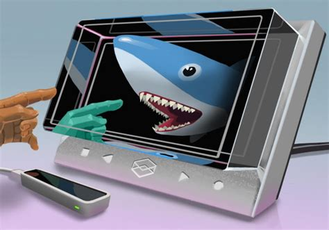 The Looking Glass is a holographic display for 3D creators
