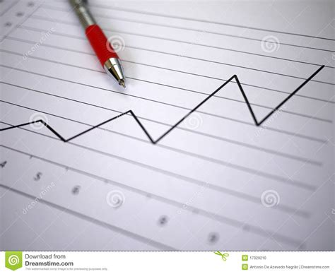 Chart And Pen Stock Photo - Image: 17029210