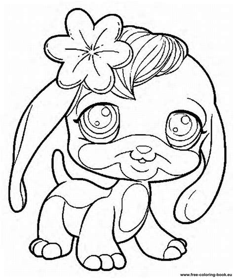 Littlest Pet Shop Coloring Pages - GetColoringPages